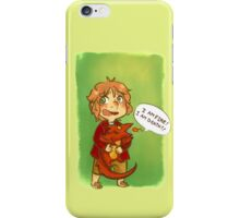 Hobbit: I Am Fire! I Am Death! iPhone Case/Skin