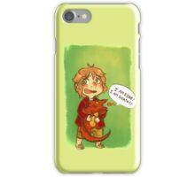 Hobbit: I Am Fire! I Am Death! iPhone Case/Skin