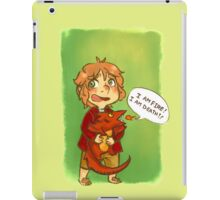 Hobbit: I Am Fire! I Am Death! iPad Case/Skin