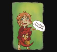 Hobbit: I Am Fire! I Am Death! Kids Clothes