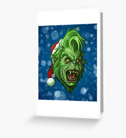 The WereGrinch! Greeting Card