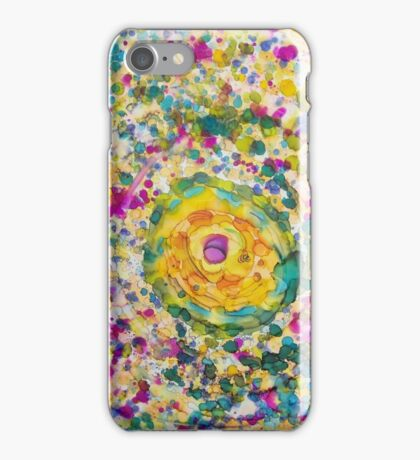 Pastel Salts Floral Expressionism iPhone Case/Skin