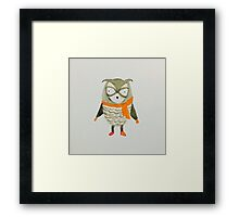 Forest Friends Owl Framed Print