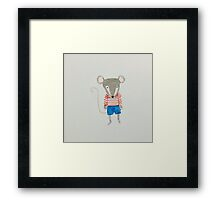 Forest Friends Mouse Framed Print