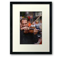 The Slovak Dulcimer Ensemble  Framed Print