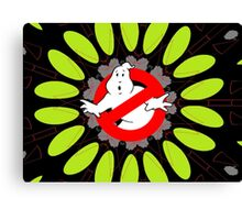 Ghostbusters behind Print Canvas Print