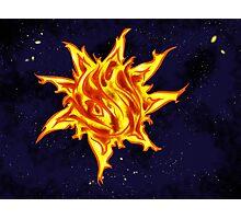 The Sun's Inferno Photographic Print