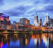 Melbourne From Southbank by JimmyAmerica