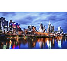 Melbourne From Southbank Photographic Print