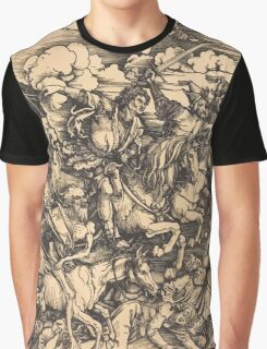 Albrecht Dürer or Durer The Four Horsemen Graphic T-Shirt