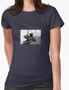 Wind Dryer Womens Fitted T-Shirt