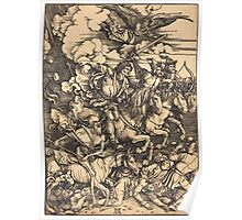 Albrecht Dürer or Durer The Four Horsemen Poster