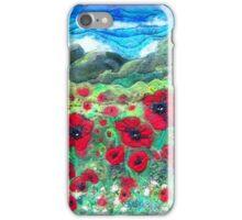 The Poppy Field iPhone Case/Skin
