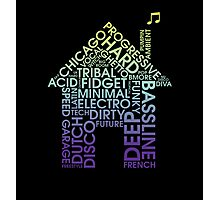 House Genres Photographic Print