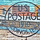US POSTAGE 1910 GIDDINGS TEXAS by Savannah Gibbs