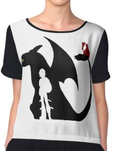 How To Train Your Dragon Chiffon Top