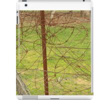 Tangled wire iPad Case/Skin