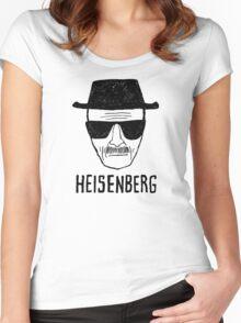 HEISENBERG - BREAKING BAD - WALTER WHITE  Women's Fitted Scoop T-Shirt