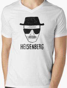 HEISENBERG - BREAKING BAD - WALTER WHITE  Mens V-Neck T-Shirt