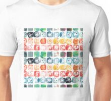 Watercolor seamless pattern. Abstract shapes. Unisex T-Shirt