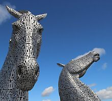 The Kelpies by John Messingham