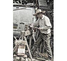 Wood worker Photographic Print