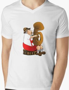 "Lederhosen ""I've found Me"" Let's Crank Up the Volume Mens V-Neck T-Shirt"