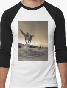 paris  Men's Baseball ¾ T-Shirt