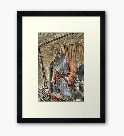 Good Knight Framed Print