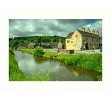 Coalport Canal  Art Print