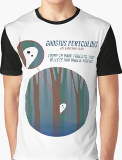 Dangerous Ghost and Where to Find It Graphic T-Shirt
