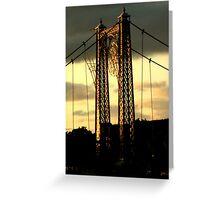 Infirmary Bridge, Inverness Greeting Card