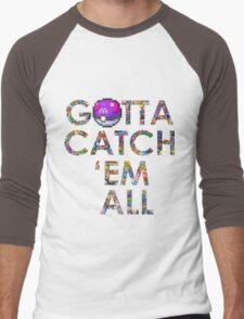 Pokemon - Gotta catch 'em all! Men's Baseball ¾ T-Shirt