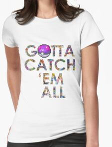 Pokemon - Gotta catch 'em all! Womens Fitted T-Shirt