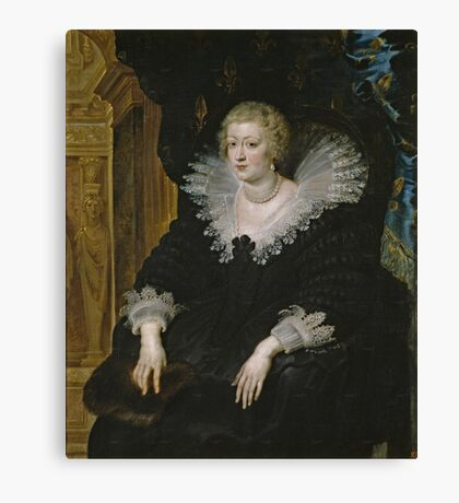 Anne of Austria Canvas Print