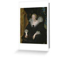Anne of Austria Greeting Card