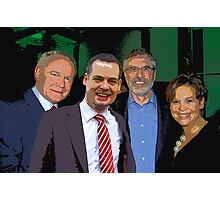 Martin, Gerry, Pearse, Mary  Photographic Print