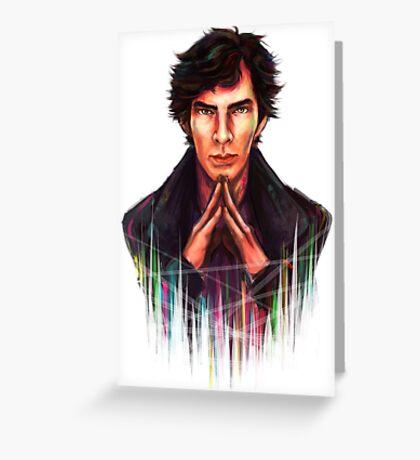 Sherlock: Mind Palace Fade Greeting Card