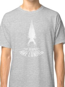 Mass Effect - The Reapers are Coming (White Variant) Classic T-Shirt
