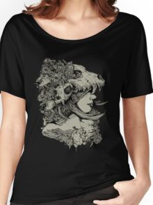 Gia Girl Black Women's Relaxed Fit T-Shirt