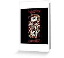 Charlemagne Blossoms Album Art Greeting Card