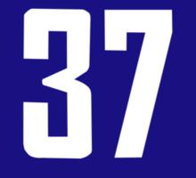 #37 Jersey Sticker
