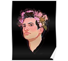 Brendon Flower Crown Poster
