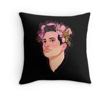 Brendon Flower Crown Throw Pillow