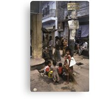 Dhaka Children Canvas Print