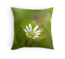 Surprise Garden Flower Throw Pillow