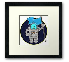 Space Dude Framed Print