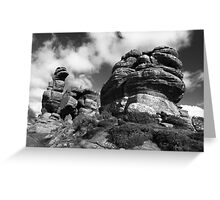 Brimham Rocks Greeting Card