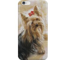 Bianko- yorkie dog iPhone Case/Skin