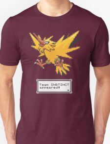 Pokemon Go - Team Instinct Sprite Design T-Shirt